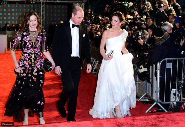 كيت ميدلتون في لقطة طريقة بحفل BAFTA Awards 2019 وهذه تفاصيل إطلالتها