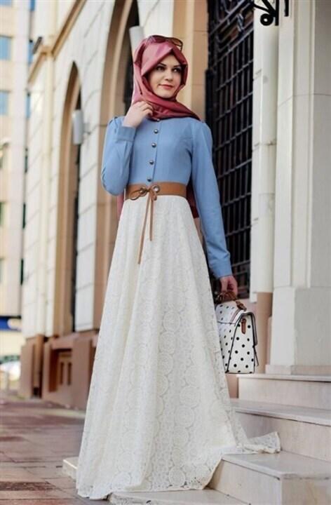 اختاري ليومياتك أجمل أزياء تركية تناسب المحجبات
