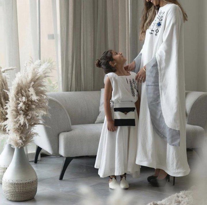 تصاميم الأم وأبنتها في مناسبات رمضان