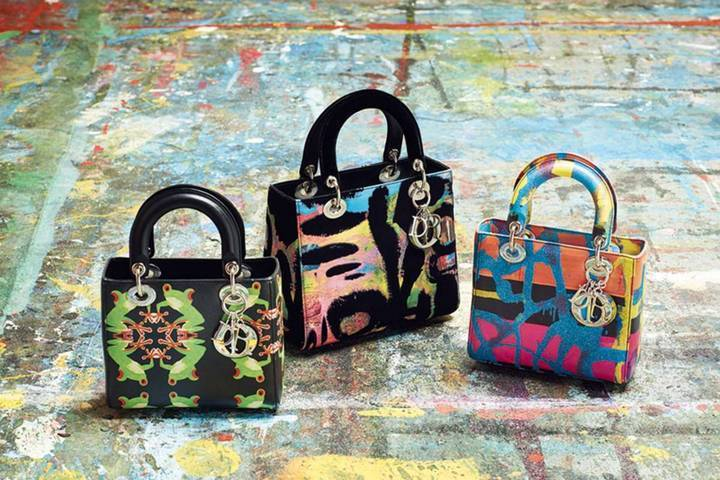 Lady Diorالحقيبة الأيقونية بلمسة إبداعية متميّزة