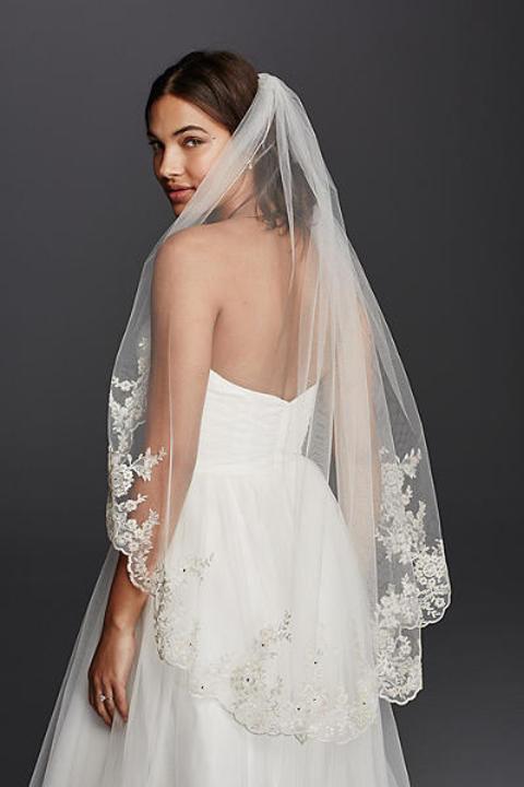 أخطاء شائعة تقعين فيها عند اختيار الطرحة لزفافك