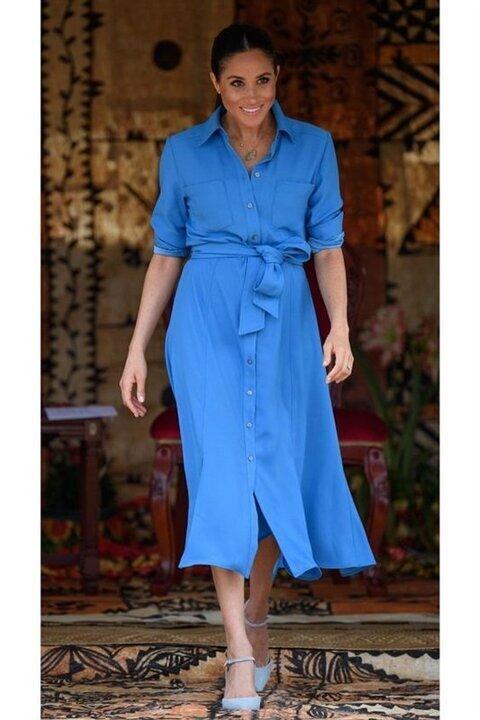 بعد اختيارها الأكثر تأثيرا في الموضة.. 20 إطلالة أنيقة لـ ميجان ميركل