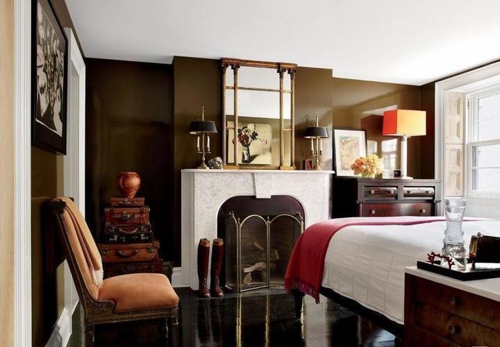 ديكورات المنزل: الوان غرف النوم في منازل المشاهير