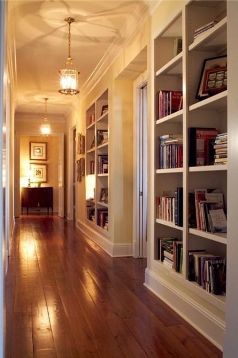 إستغلي ممرات بيتك الضيقة بهذه الطرق الذكية والمفيدة!