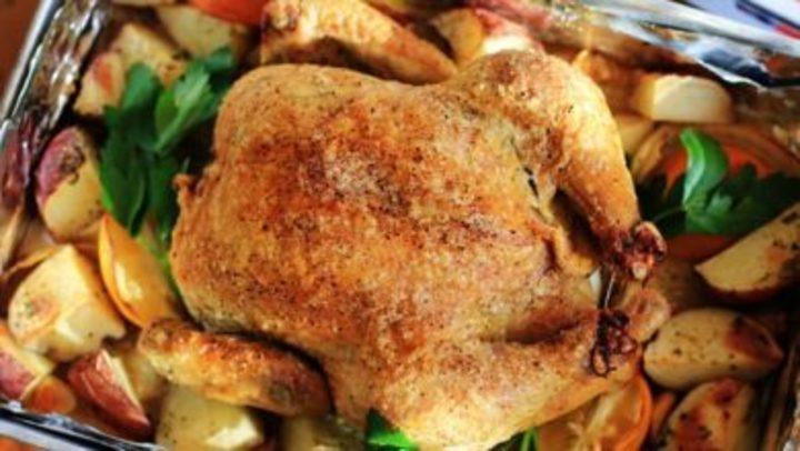 طريقة طهي الدجاج