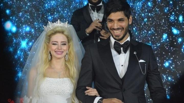 شاهد.. 8 فيديوهات من حفل زفاف علي جبر