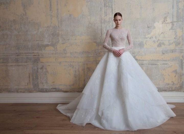 فساتين زفاف جورج حبيقة 2020