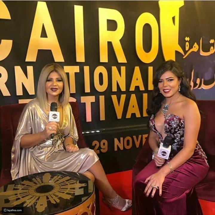 نجمات تحدين برودة الجو بفساتينهن القصيرة وأشعلن فعاليات مهرجان القاهرة