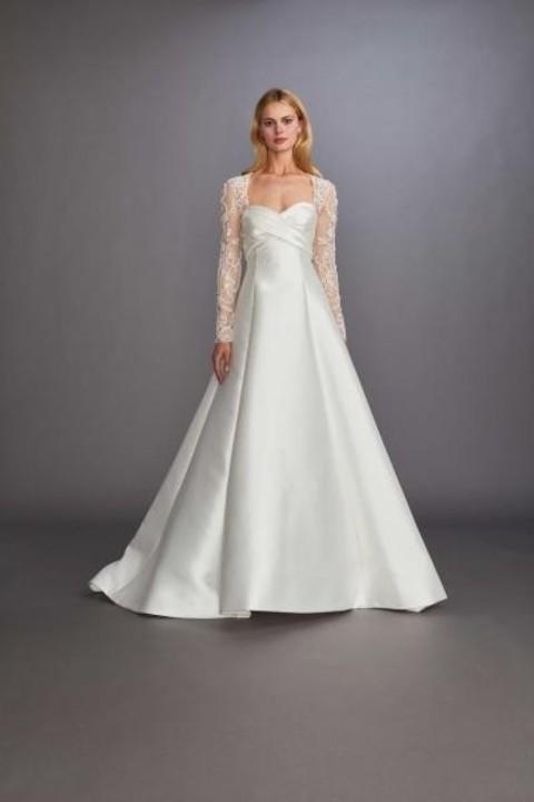 فساتين زفاف منفوشة موضة ربيع 2020 من أسبوع نيويورك للعرائس